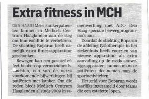 Artikel Extra Fitness MCH