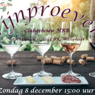 Wijnproeverij opbrengst EUR 500